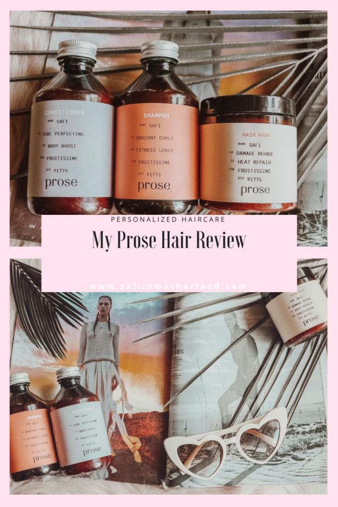 Prose hair