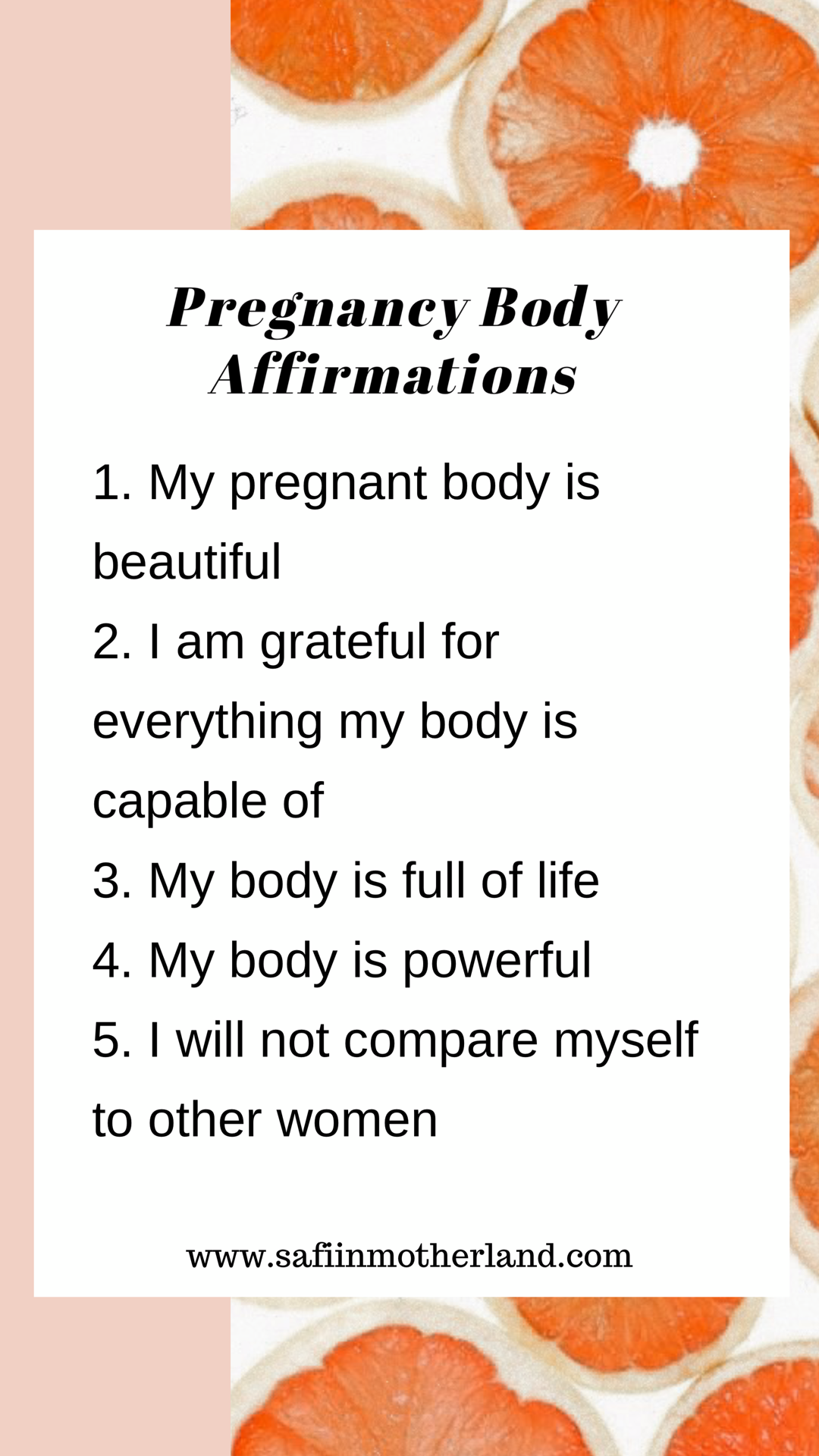 Body positive, pregnancy affirmations, daily affirmations, pregnancy insecurities
