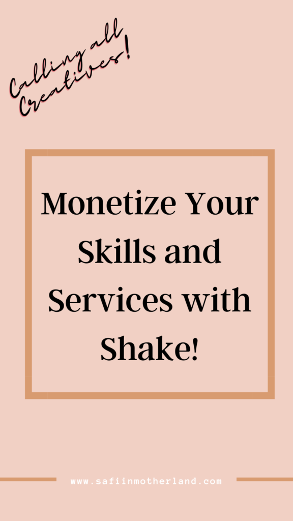 Shake influencer platform