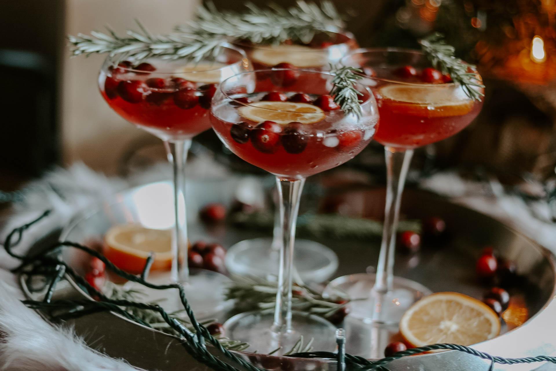 Champagne coupe glasses